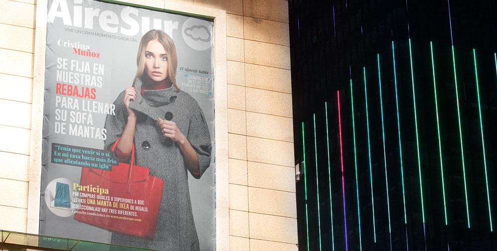 AireSur Centro Comercial Campaña Creatividad Posicionamiento Nueva imagen