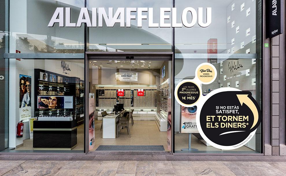 Alain Afflelou Relanzamiento Audiología Tienda Identidad Marca01