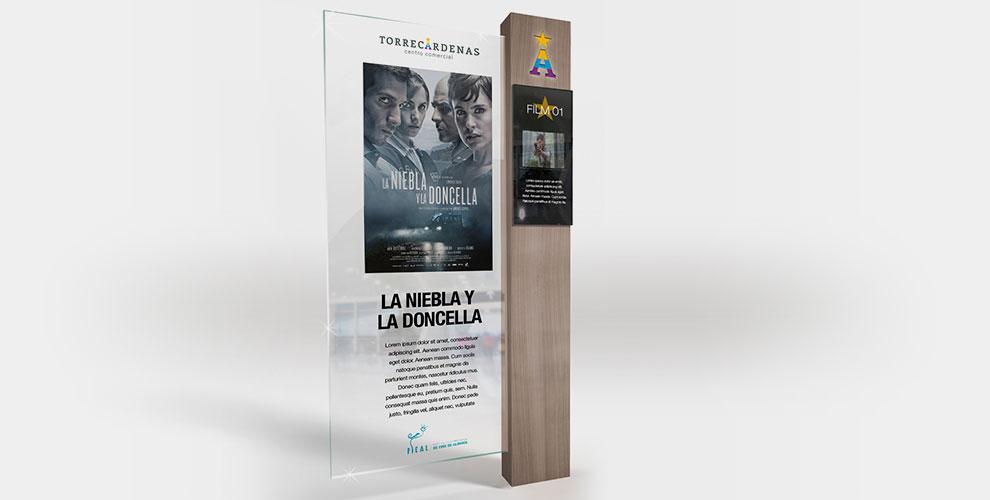 Centro Comercial Torrecárdenas Almería Campaña Inauguración Diseño Estrategia Creatividad acción Cine01