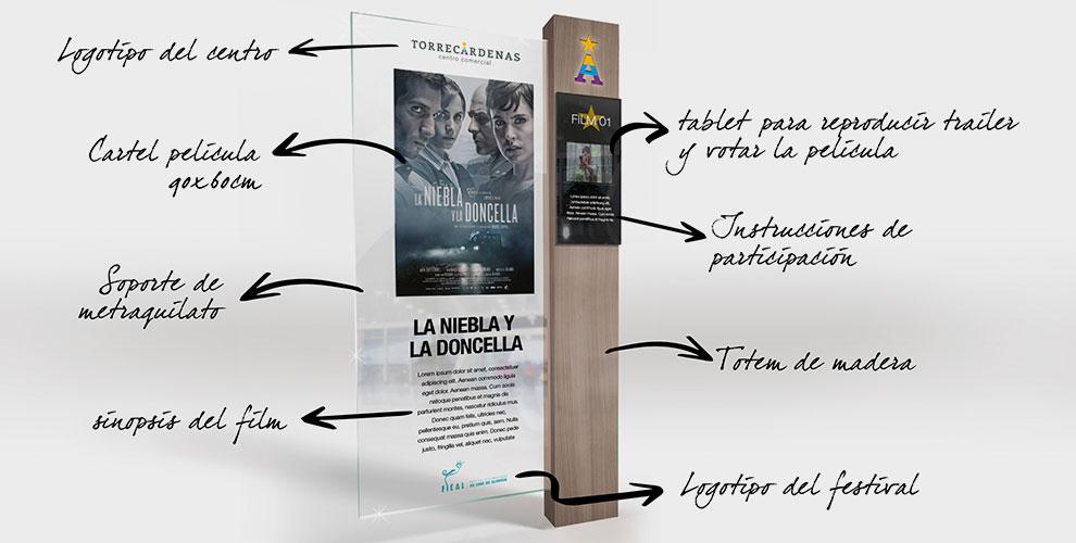 Centro Comercial Torrecárdenas Almería Campaña Inauguración Diseño Estrategia Creatividad acción Cine02