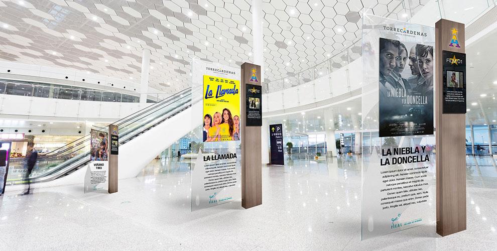 Centro Comercial Torrecárdenas Almería Campaña Inauguración Diseño Estrategia Creatividad acción_Cine03