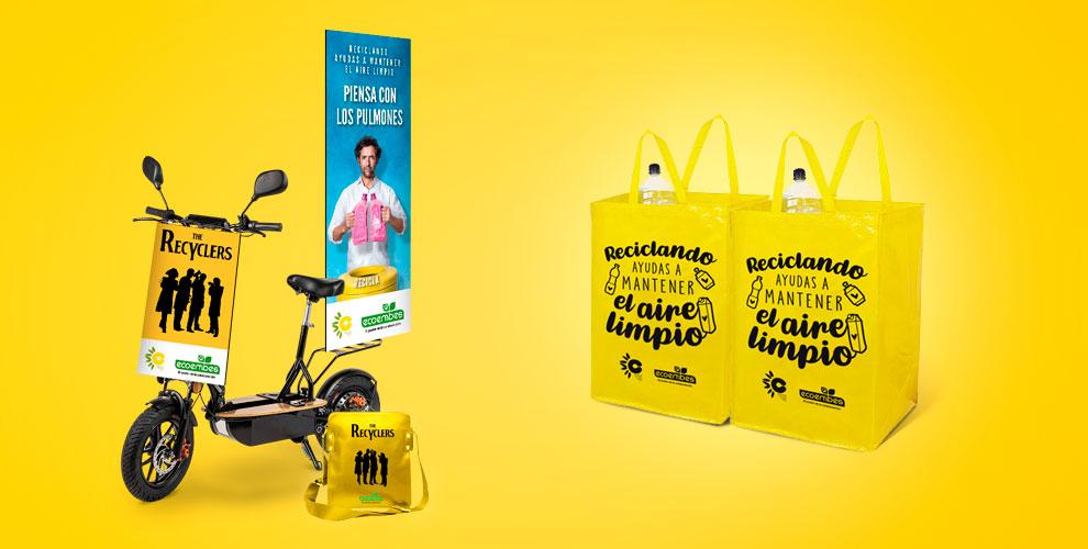 Ecoembre The Recyclers Acción Street Marketing Reciclaje02