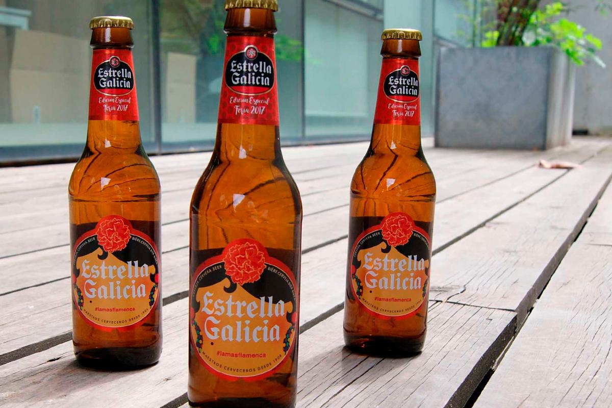 Estrella Galicia Etiquetado packaging local Feria de Abril Sevilla02