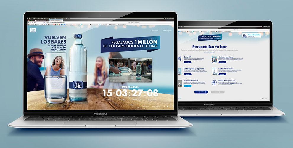 Font Vella Campaña Apoyo Restauración COVID Microsite web digital