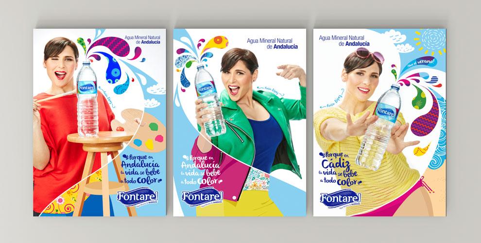Fontarel Campaña Estrategia Posicionamiento Rosa López grafica