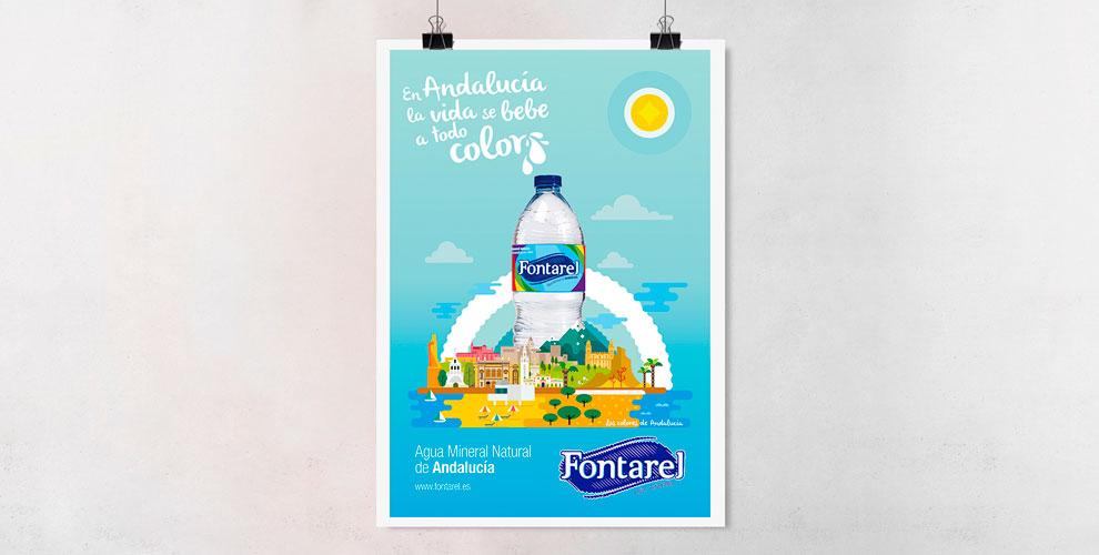 Fontarel Campaña Estrategia Posicionamiento Creatividad Gráfica