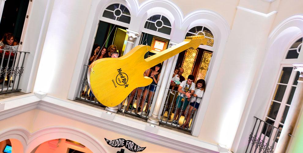 Hard Rock Cafe Sevilla Decoración Eventos