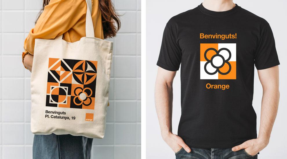 Inauguración Orange Tienda Barcelona Agencia Eventos Trade Marketing Merchand01