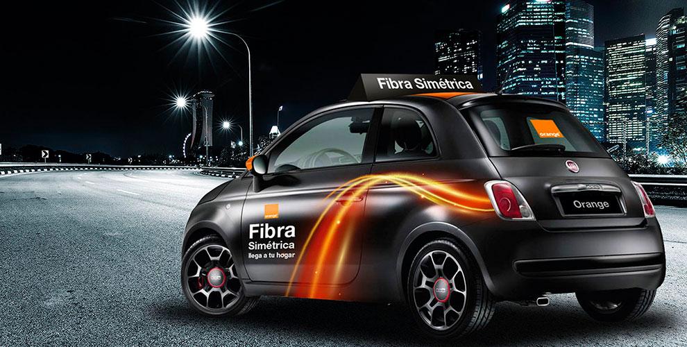 Orange Trade Marketing Nacional vinilado vehículo