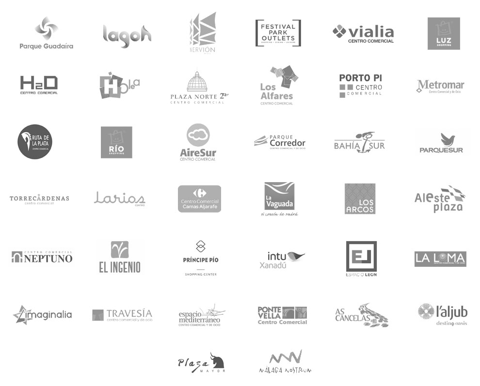logos centros comerciales